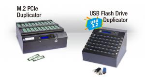 The famous PCIe and USB 3.0 series duplicators.