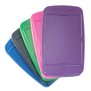 COLORpockit is available in five colors, pantone and more!