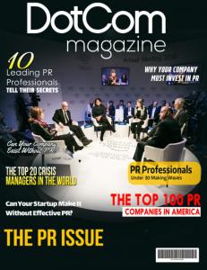 The DotCom Magazine PR Issue