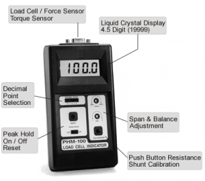 PHM-100 Hand Held Load Cell Indicator