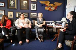 LE&RN Activists meet with Congressional staffers, March 2018