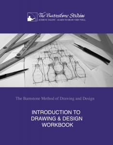 The cover of the new interactive workbook that's a companion to the recorded classes of the late master art instructor, Myron Barnstone.