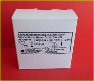 Genekam Coronavirus PCR kit FR475 (SARS CoV-2 Wuhan Strain)