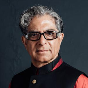"""Dr. Deepak Chopra, best-selling author of 91 books including """"Metahuman"""" and """"Total Meditation"""""""