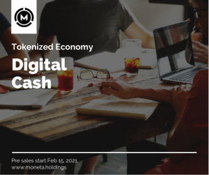 Digital Cash Moneta