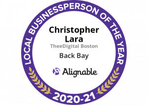 Christopher Lara Back Bay's 2021 Alignable Local Business Person Of The Year