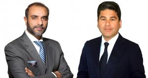 Left to right -  Khurram Shroff, Chairman IBC Group, and Shahal Khan, CEO & Founder, Burkhan World Investment LLC