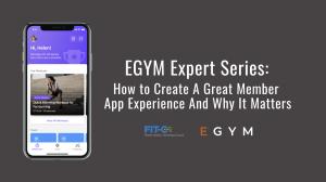 EGYM Expert Series with Dana Milke, and host Bryan K. O'Rourke