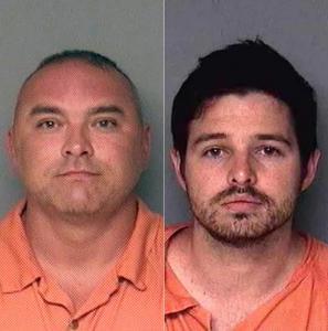 Arrest mug shots of hackers