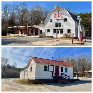 Only 1,700' from the shores of Lake Anna, the property includes the barn as well as a smaller structure with plumbing and electricity. In addition, there is enough outdoor space for entertaining or events
