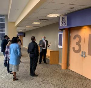 Fulton County Digital Signage System with Wayfinding