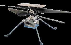 Ingenuity Robocopter - Image courtesy of NASA and JPL