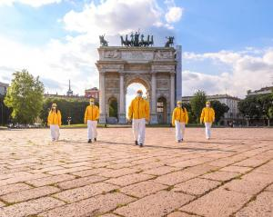 Scientology Volunteer Ministers of  Milan, Italy