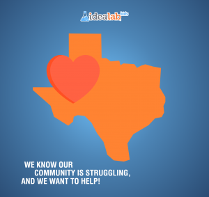 We know our community is struggling and we want to help!