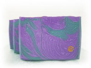 Lavender and Sage soap by Cabbage Patch Soap