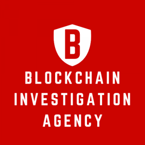 Logo of the Blockchain Investigation Agency - Zürich, Switzerland