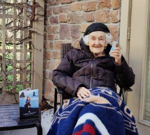 "Viking Beauty Secrets Model ""Grandma Bubby"" turns 103"