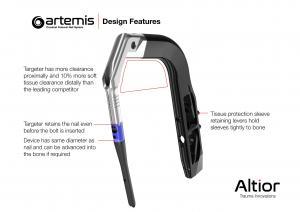 Artemis Targeter Device Design Features