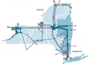 NY Power Grid Map