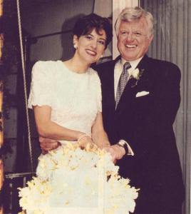 Vicki Reggie marries Ted Kennedy