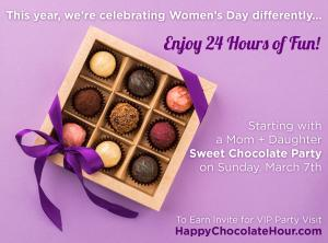Participate in Creative Contest Draw RBG, most inspiring entries win invite for Happy Chocolate Hour #celebratingwomen #honoringrbg #positiveamericana www.WomensDayParty2021.com