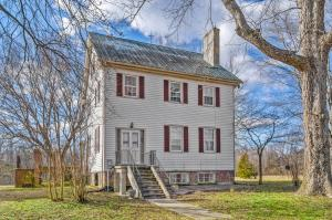 The county estate features 109.4± acres zoned A-1 with 2,190± ft. of road frontage, a 3 bedroom 2 bath 2,700± sq. ft. circa 1750 farm house (remodeled on 1985), several outbuilding and 8 acres of viable grapes and 26 acres of potential vineyard with trellis system