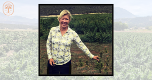 Panacea Life Sciences' Founder and CEO, Leslie Buttorff at PANA Organic Botanicals