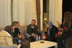 The Producer Hosny Mahmoud In a press and television interview