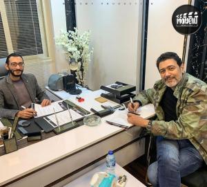The Producer Hosny Mahmoud With Actor Ahmed Wafiq