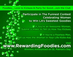 Love to Kickass and Party for Good...Join The Club...Recruiting for Good is Sponsoring The Sweetest Kickass Contests and Rewarding Goodies #bestfoodinthehood #funforgood #happysushihour www.RewardingFoodies.com