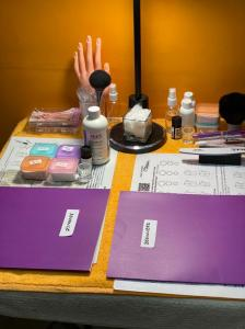 Nail Technician Training Workspace