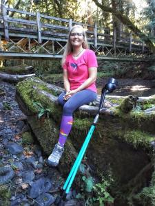 Dana Lawson is a Port Angeles amputee, cancer survivor, and victim of domestic abuse. In June she will complete the North Olympic Discovery Marathon to raise awareness and funds for other survivors of domestic abuse.