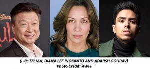 Tzi Ma, Diana Lee Inosanto and Adarsh Gourav