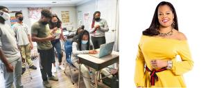 Yassin Hall Black Amazon Guru Teaches Middle High School Students