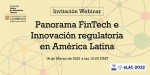 Invitation to CCAF webinar with UN ECLAC to review FinTech market opportunities in LATAM