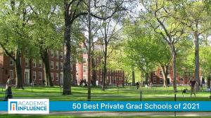 Campus of the top-ranked private grad school as selected by AcademicInfluence.com