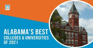 The top higher education institutions in Alabama