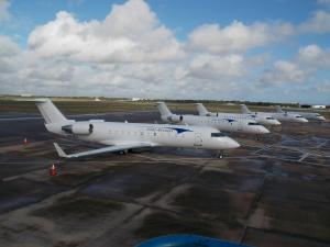 Elite Airways fleet of CRJ Jet Aircraft