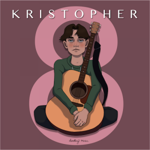 """8"" by KRISTOPHER releases March 29, 2021"