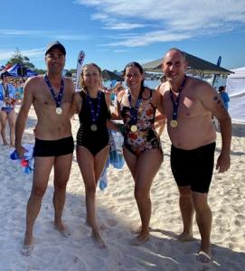 Pictured Stuart Gordon, Jennifer Skiff, Carly Lambert, and Michael Berry | Photo Credit:  Kellie Moxham