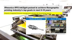 RPS InkSight and the SRV Viscometers enable tight color control in printing