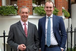 Nigel Farage + Selwyn Duijvestijn