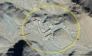 Abadeh Nucleear Site Iran - before being sanitized