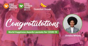 Christina Williams - World Happiness Awards 2021