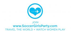 Participate in Recruiting for Good referral program to earn travel to 2023 Women Soccer #soccergirlsparty www.SoccerGirlsParty.com