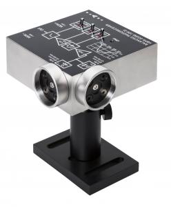 FEMTO low noise Balanced Photoreceiver with free space optical input