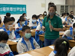 By reaching kids before they begin to experiment with drugs, the volunteers know they are saving lives.