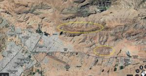 1-Satellite imagery on the general location of Kenesht and Panj Pelleh Sites Iran IRGC secxret missile sites