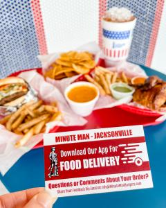 Minute Man Restaurant Delivers to Jacksonville, AR and the surrounding area