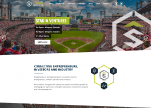 Stadia Ventures is the world's leading sports tech hub and investment group